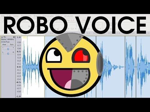 DIY Vocoder Robotic Computer Voice Effect EASY SHORT Audacity Tutorial