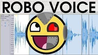Vocoder Robotic Computer Voice Effect [EASY & Short Audacity Tutorial]