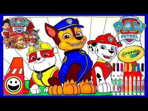 Paw Patrol Pups Rubble Chase Amp Marshall Crayola