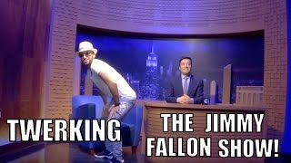 TWERKING ON THE JIMMY FALLON SHOW!!