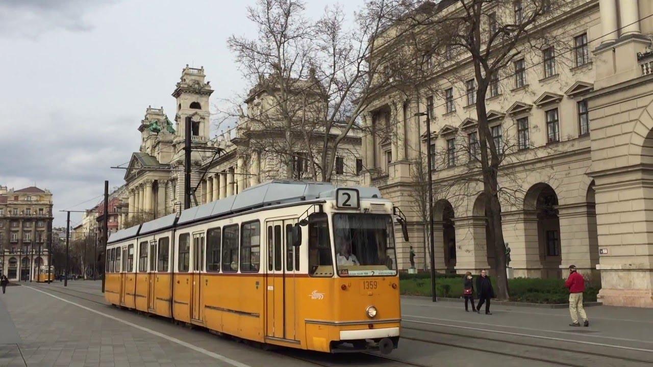 ブダペスト市電 Trams in Budape...