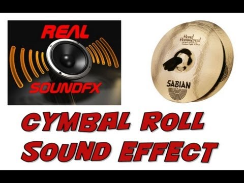 cymbal roll sound effect realsoundfx youtube. Black Bedroom Furniture Sets. Home Design Ideas