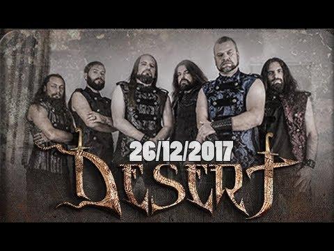 DESERT 15th Anniversary show - 26/12 Tel Aviv