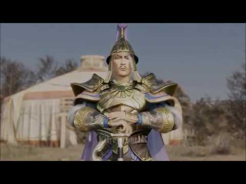 Dynasty Warriors 9 - Yuan Shao vs. Gongsun Zan's Baima Cavalry (English Dub)