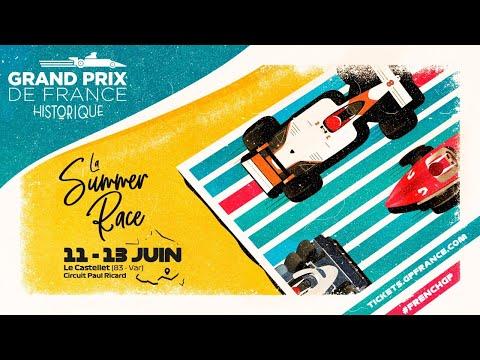 Grand Prix de France Historique JOUR 2