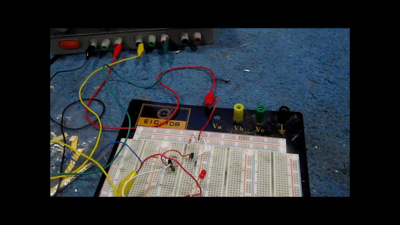 transistor latch circuit youtube rh youtube com