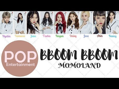 Momoland (모모랜드) _ BBoom BBoom (뿜뿜)- [Color Coded Lyrics]