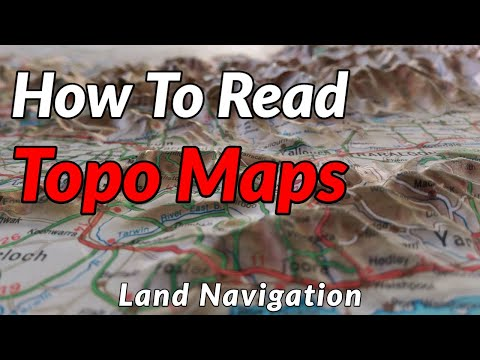 HOW TO READ TOPOGRAPHIC MAPS // Basic Land Navigation Part 1
