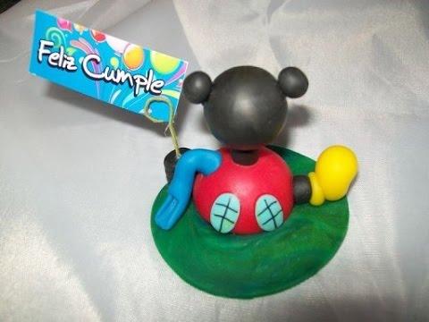 Souvenirs facil, paso a paso: Casa de Mickey. - YouTube