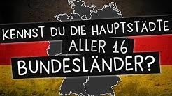 Bundesländer und ihre Hauptstädte: Kennst du alle 16?