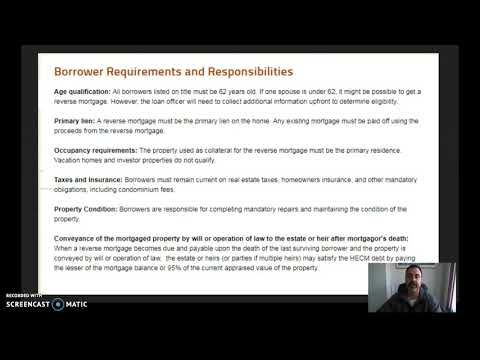 What Is A Reverse Mortgage | How Does It Work