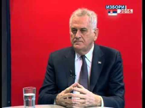 INTERVJU RTK: TOMISLAV NIKOLIĆ, PREDSEDNIK SRBIJE 20.04.16.