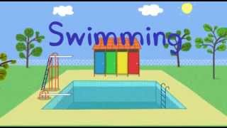 Peppa Pig and george go Swimming dvd new episodes 2013