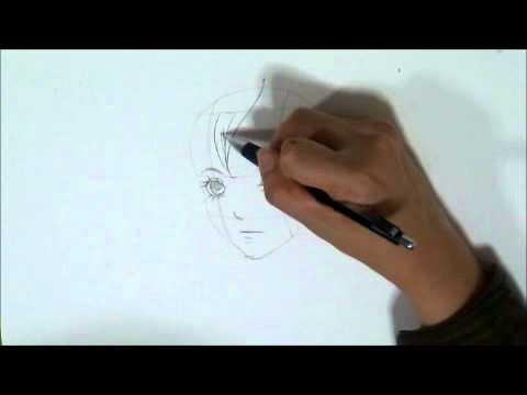 สอนวิธีวาดโครงหน้าการ์ตูนแบบง่ายๆ