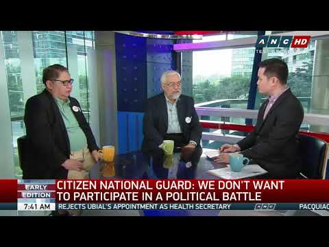 'Let Duterte do his job,' Citizen National Guard tells admin critics (part 1)