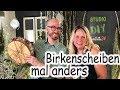 Floristik24 Birkenscheiben Deko. Die Holzscheibe mal anders! Birkenholz