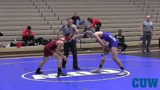 CUW Wrestling vs Triton College Highlights (November 16, 2018)