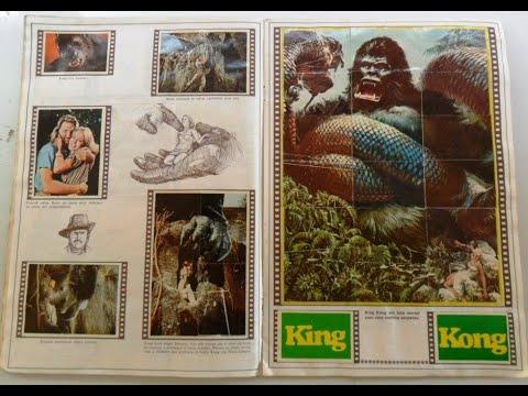 Álbuns de Figurinhas Antigos: ET o Extra Terrestre, King Kong, Perdidos no Espaço, Jaspion e outros