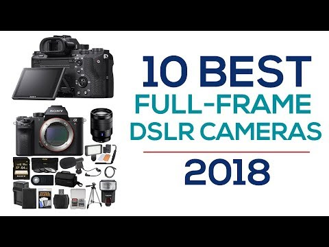 10 Best Full Frame DSLR Cameras - YouTube