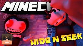 Minecraft BENDY Hide and Seek! (Minecraft BENDY Hide and Seek Minigame!)