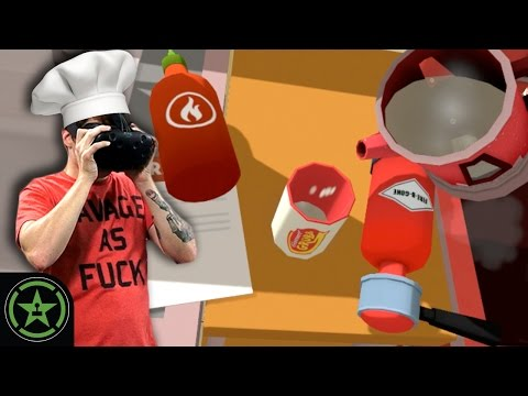 VR the Champions - Job Simulator: Chef