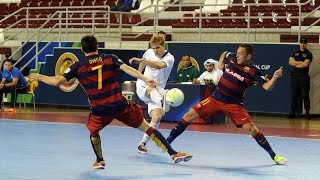 BARCELONA vs DYNAMO. Intercontinental Futsal Cup. Qatar-2016. 25.06.16