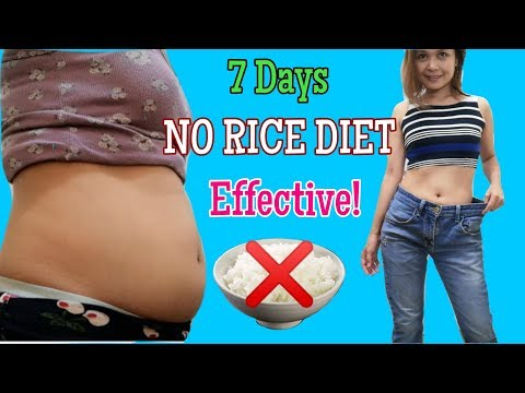 7 Days NO RICE DIET with Meal Plan (Low Carb Keto) w/ ENG SUBS