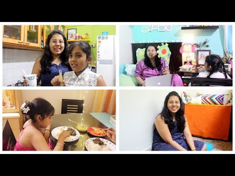 My First Full Day Vlog | Playing With my Daughter | Banana Flower Recipe | Maitreyee's Passion