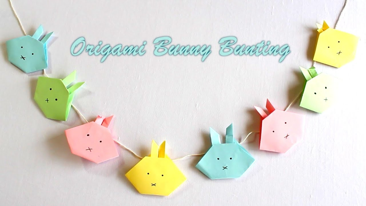 Easter Egg Tree Paper Craft