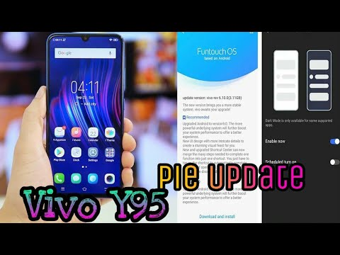 Vivo Y95 Android Pie Update _ Y95 Pie Update In India || Android Beta  Program_ Vivo V15 Pro
