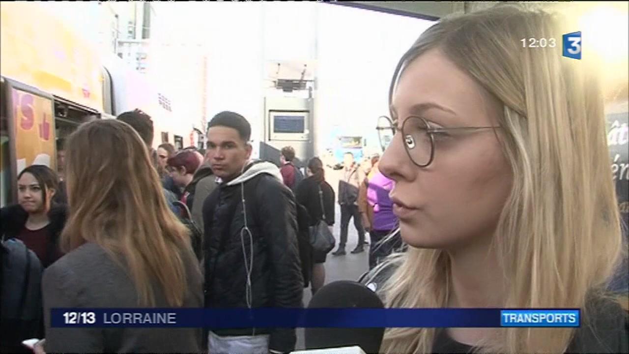 Nancy : grève des transports en commun
