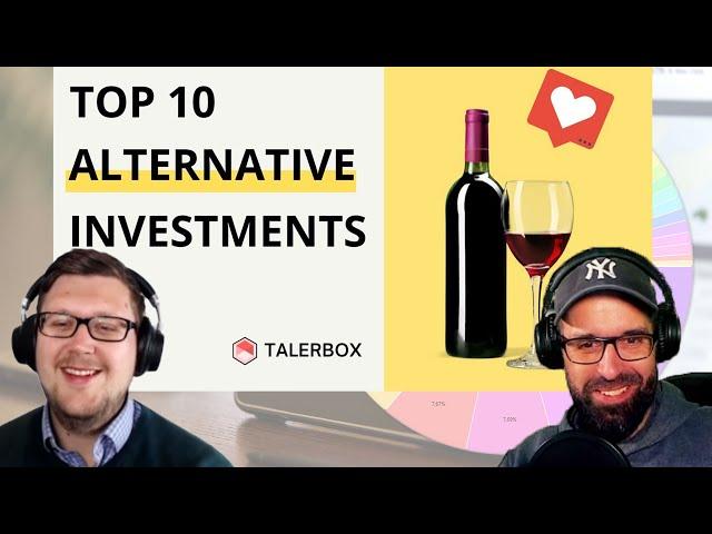 Reaktion auf Talerbox: 10 lukrative alternative Investments abseits von Aktien, ETF, Immobilien