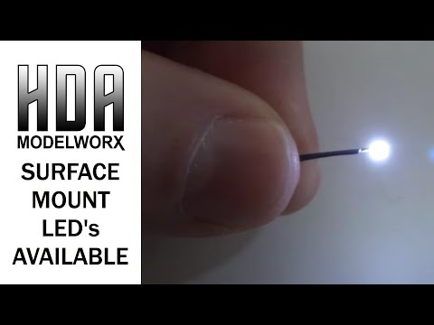 Surface Mount Light Emitting Diodes (SDM/SM LED) Available from HDAmodelworx