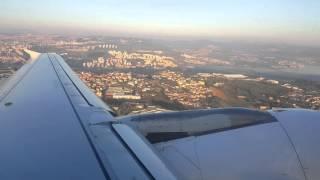 Saindo do Aeroporto de Lisboa Portugal