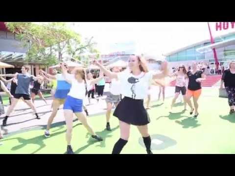 100% Flash Mob at Erina Fair