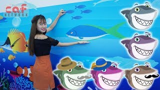 Baby Shark Song | Baby playground indoor | Nursery Rhymes With Baby Shark