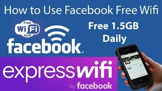 How to use Facebook Free WIFI Network | Daily 1.5GB 4GB Internet Sponsored by FACEBOOK screenshot 1
