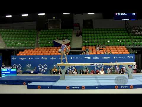 LIMA Ana Luiza (BRA) - 2019 Artistic Junior Worlds, Gyor (HUN) - Qualifications Balance Beam