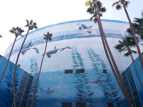 Wyland Whaling Wall Mural | Long Beach CA