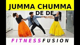 Jumma Chumma De De Bollywood Dance Workout | Zumba | Jumma Chumma Dance Choreography