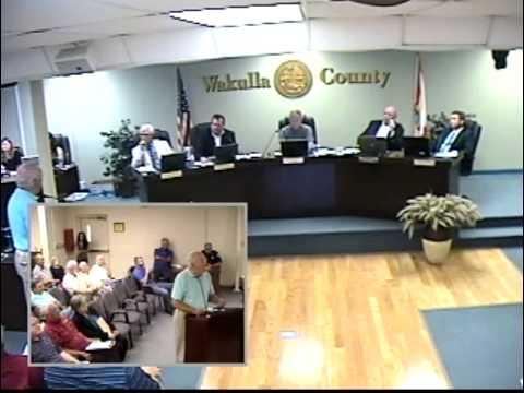 Wakulla BoCC Meeting 07.15.2013