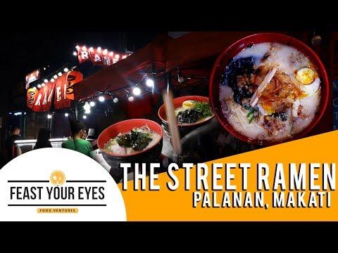AFFORDABLE STREET RAMEN IN MAKATI - The Street Ramen - Feast Your Eyes - Gab's Vlog