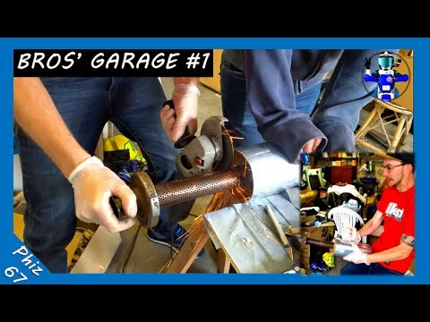 Bros 39 garage couper son pot d 39 chappement en deux for Garage soudure pot echappement