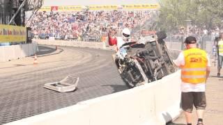 PUZ Drift Team LS powered E30 crash   Drift Allstars   HD RAW