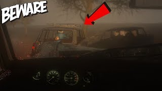 BEWARE - WE CAUGHT HIM (Scary Driving Game) *UPDATE*