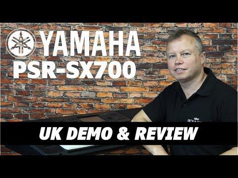 Yamaha PSR SX700 Review - Lots Of Playing Demos!