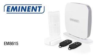 EM8615 WiFi/SMS/GSM Alarmsysteem