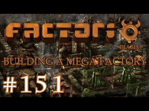Factorio - Building a Mega Factory: Part 151 the multiplayer live stream
