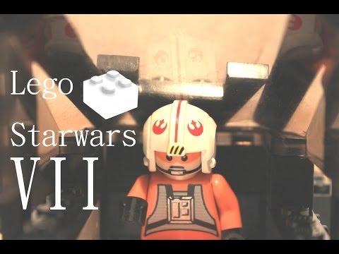 Lego Star Wars Stop Motion Animation The Force Awakens Teaser Trailer