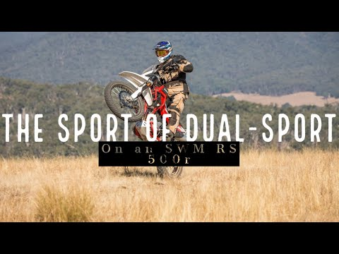 The Sport of Dual-Sport! On an SWM RS 500r